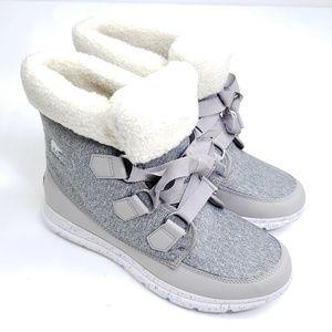 Sorel explorer carnival winter boots size 9.5